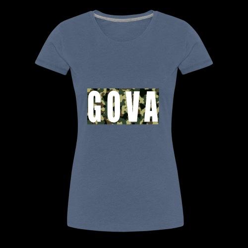 Gova Camouflage - Frauen Premium T-Shirt