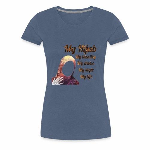 My hijab - Premium-T-shirt dam
