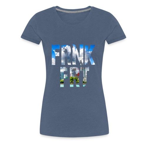 FRNKFRT skyline1 - Frauen Premium T-Shirt