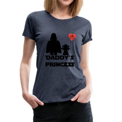 daddys princess - Camiseta premium mujer