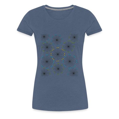 soffioni colorati - Maglietta Premium da donna