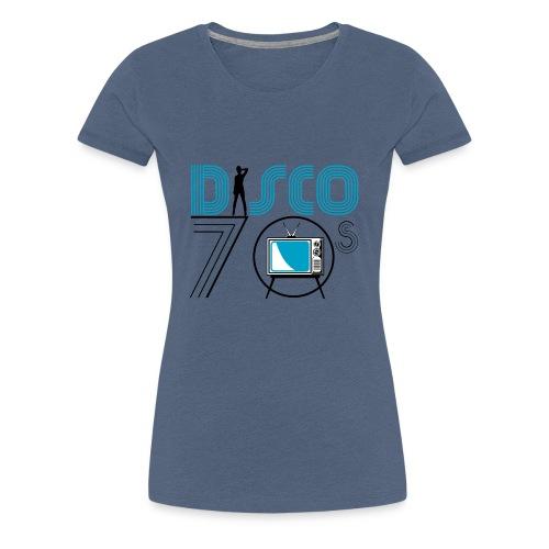 Disco 70s - T-shirt Premium Femme