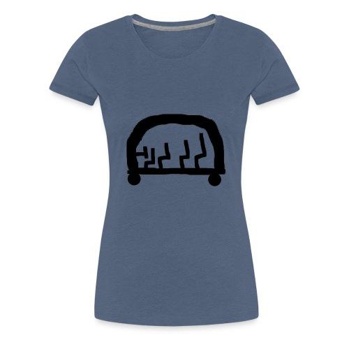 bus cool - Frauen Premium T-Shirt