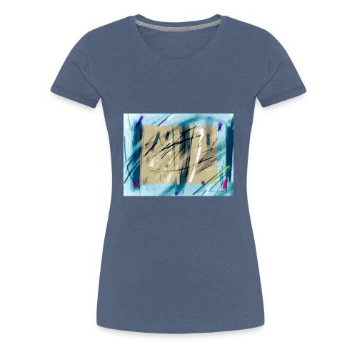 peinture - T-shirt Premium Femme