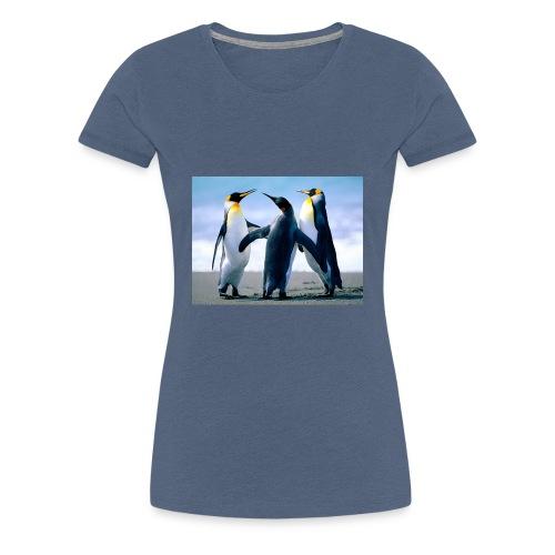 Penguins - Frauen Premium T-Shirt