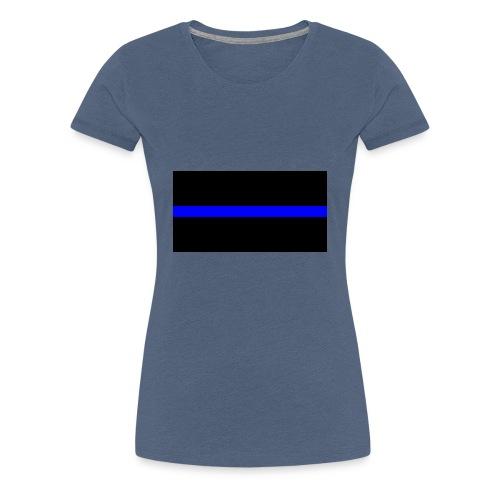 Thin Blue Line - Premium-T-shirt dam