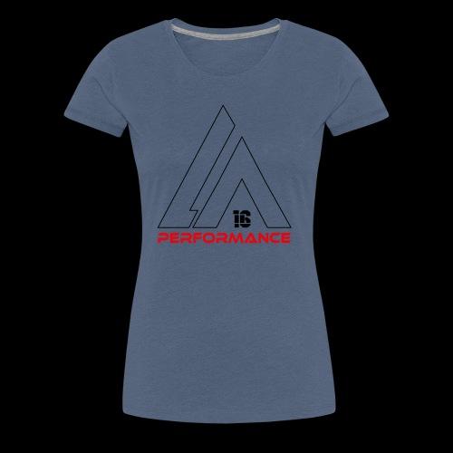 LA Performamce black/red - Frauen Premium T-Shirt