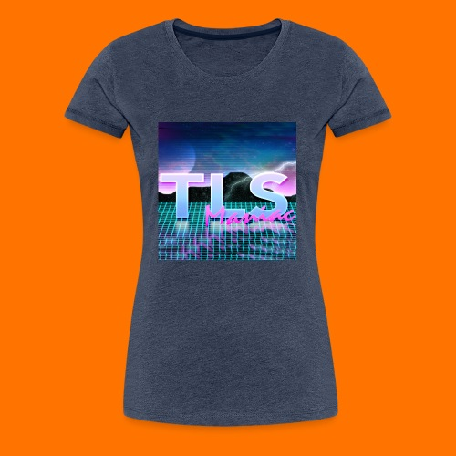 80s Themed TLS Maniac Logo - Women's Premium T-Shirt