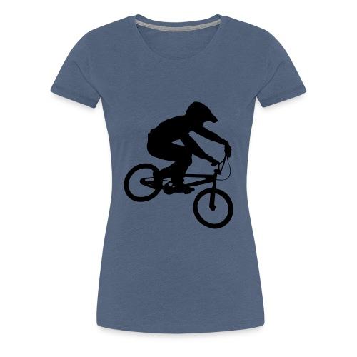 Bmx Rider One colour - Vrouwen Premium T-shirt