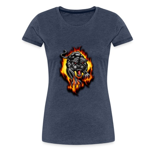 Panther - Women's Premium T-Shirt