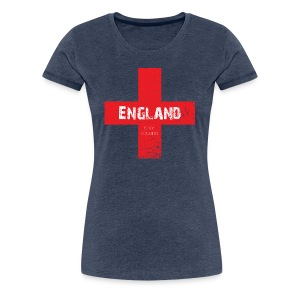 ENGLAND is my country - Women's Premium T-Shirt