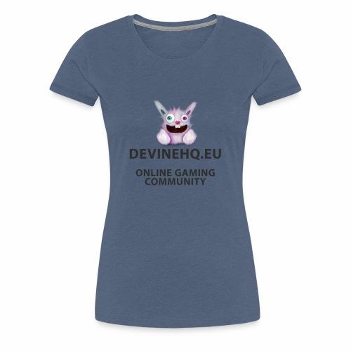 Our crazy gaming logo - Vrouwen Premium T-shirt