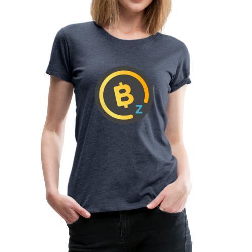 Dark BitcoinZ Logo - Women's Premium T-Shirt