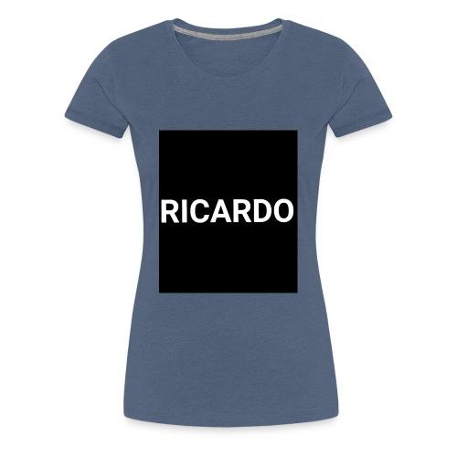 RICARDO BLAACK - Frauen Premium T-Shirt