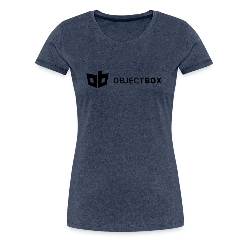 ObjectBox Black - Frauen Premium T-Shirt