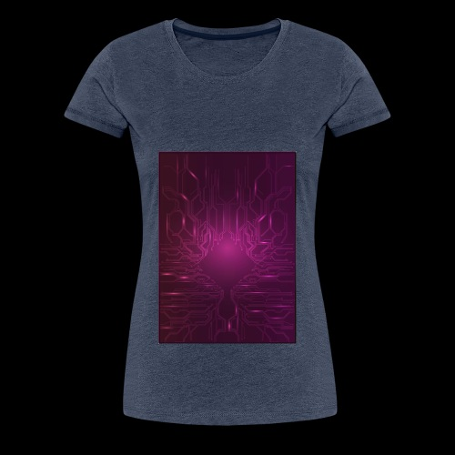 ElecGlow - Dame premium T-shirt