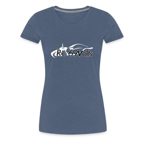 Logotypes rc69volts club de modelisme rc Français. - T-shirt Premium Femme