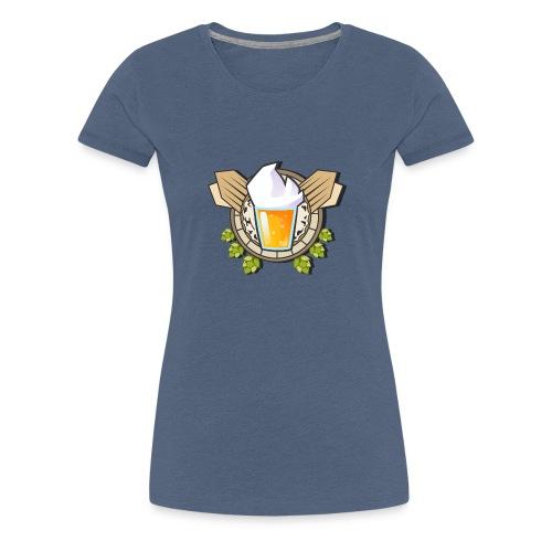 Logo Une biere et Jivay (Officiel) - T-shirt Premium Femme