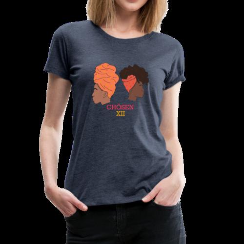 Headwrapped Princesses - Vrouwen Premium T-shirt