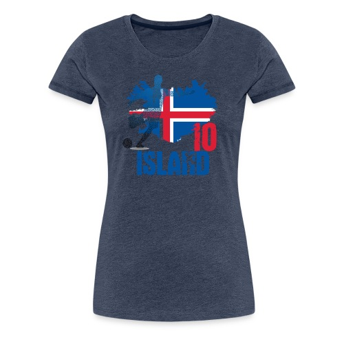 Island Tee 10 - Frauen Premium T-Shirt