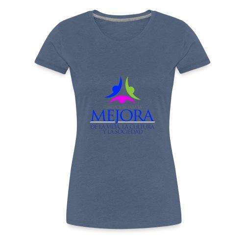 Logo Fundacion Mejora - Camiseta premium mujer