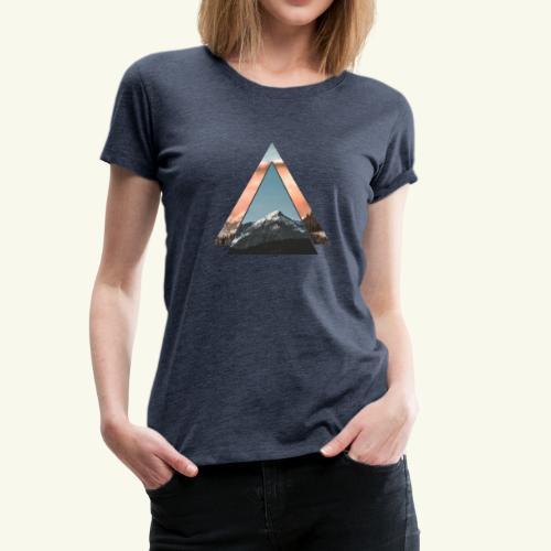Berg Love - Bergsteigen, Mountainbiken & Wandern - Frauen Premium T-Shirt