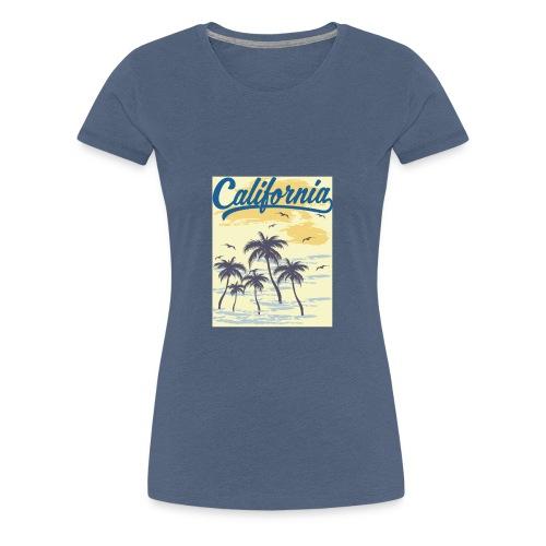 California Transparent - T-shirt Premium Femme