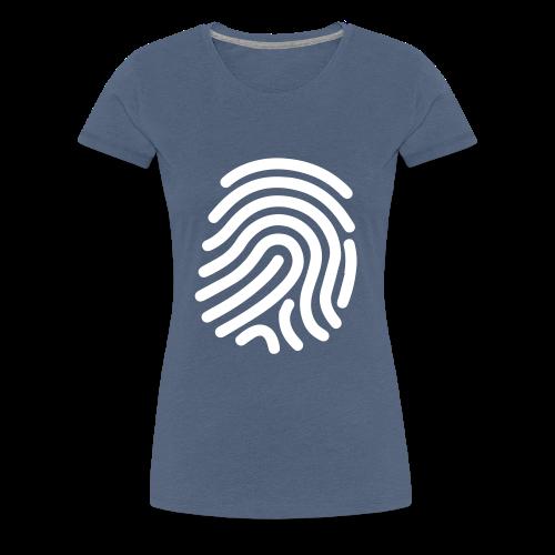 FINGERPRINT - Vrouwen Premium T-shirt