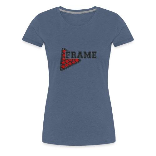 Snooker Frame - Frauen Premium T-Shirt
