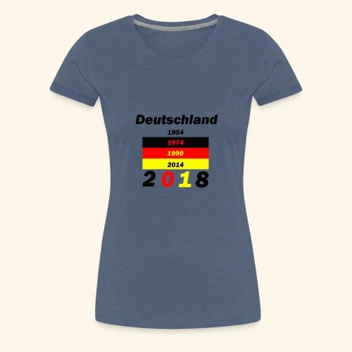 Deutschland Weltmeisterschaft - Frauen Premium T-Shirt