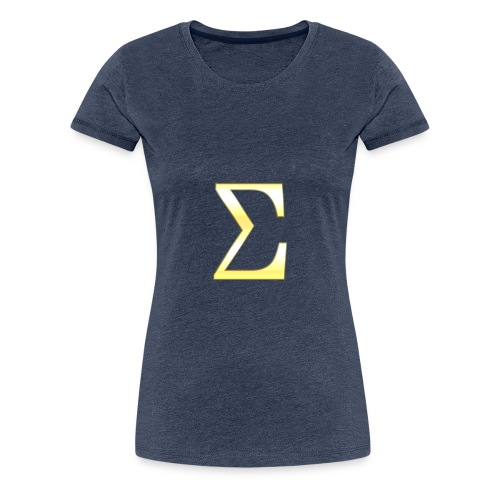 Sigma in Gold - Frauen Premium T-Shirt