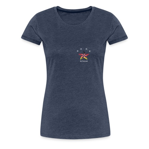 Deutschland Fahne Sterne Sport Fußball Fanshirt - Frauen Premium T-Shirt
