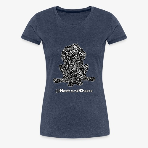 Tribal King MechAndCheese - Vrouwen Premium T-shirt
