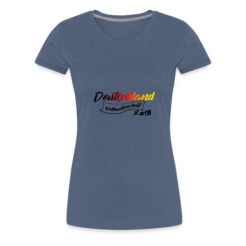 Deutschland Weltmeisterschaft 2018 - Frauen Premium T-Shirt