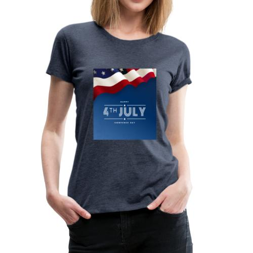Day July 4th America T-Shirt - Frauen Premium T-Shirt