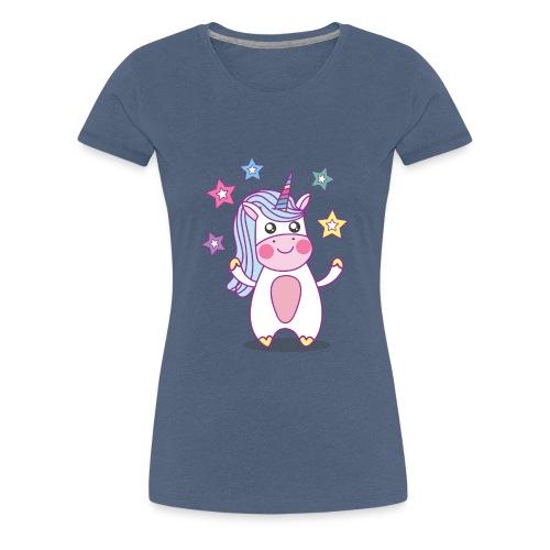 Kleines Einhorn - Baby Einhorn - Frauen Premium T-Shirt