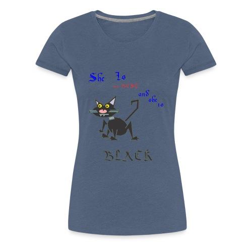My best cat - Women's Premium T-Shirt