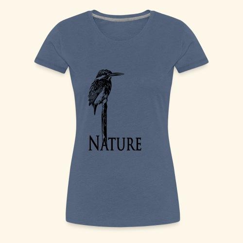 eisvogel Nature - Frauen Premium T-Shirt