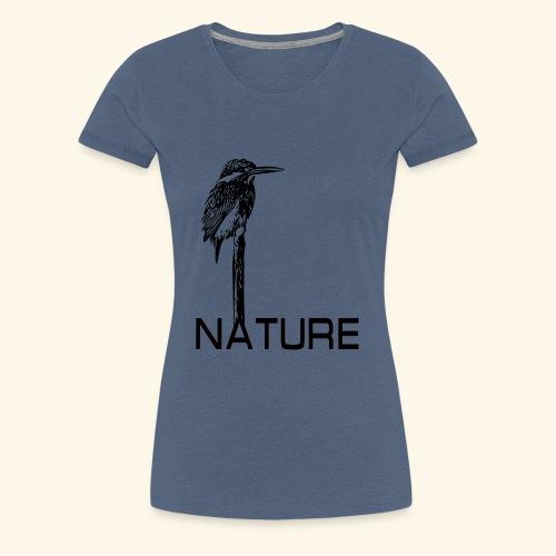 Eisvogel Natur Nature - Frauen Premium T-Shirt