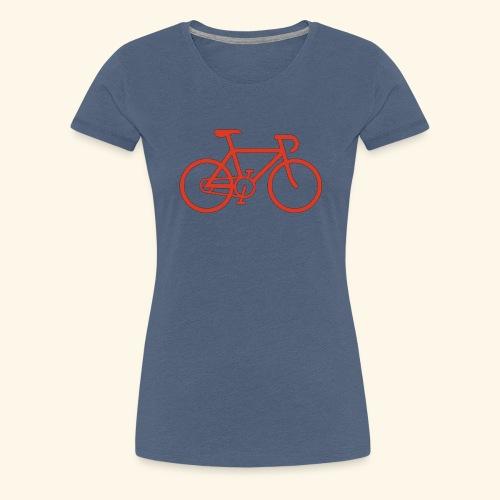 BIG bike red 001 - Frauen Premium T-Shirt