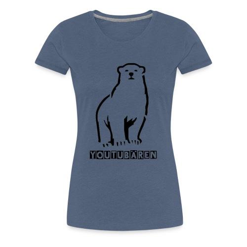 Youtubären - Frauen Premium T-Shirt