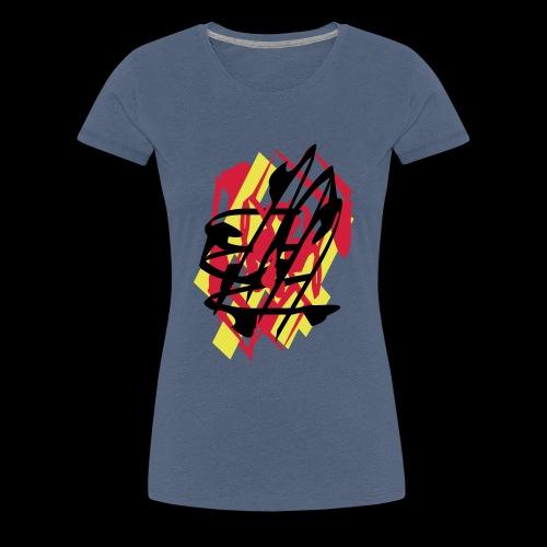 deutschland grafiti - Frauen Premium T-Shirt