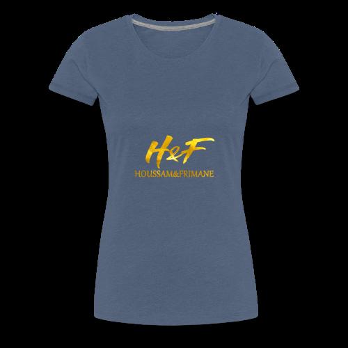 h f gold2 - Maglietta Premium da donna