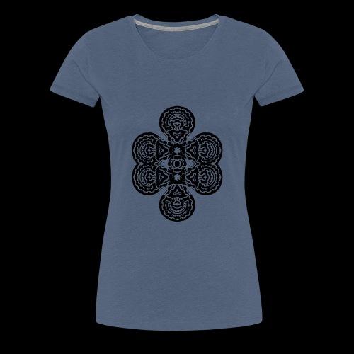 TAROT 4 NOIR - T-shirt Premium Femme