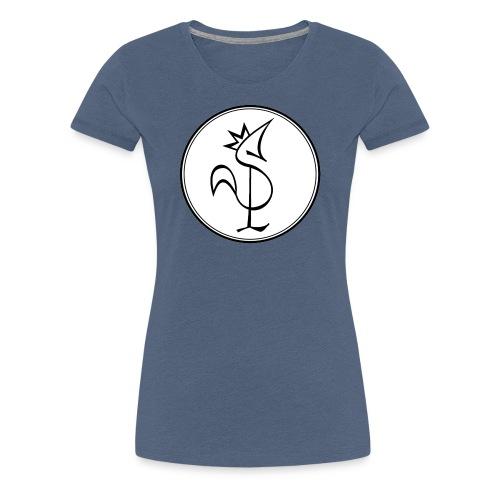 Pitou Noir fond blanc - T-shirt Premium Femme
