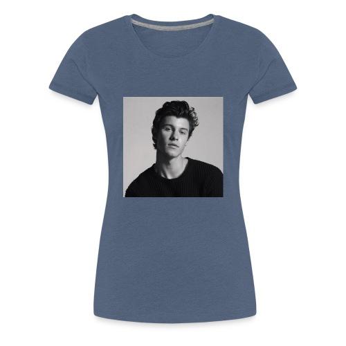 Shawn Mendes kopje - Vrouwen Premium T-shirt