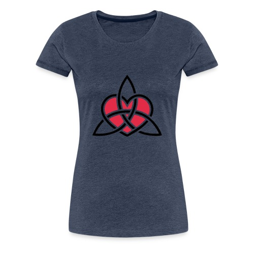 TriquetraLove - Frauen Premium T-Shirt