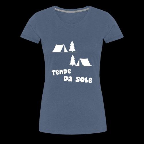 tende - Maglietta Premium da donna