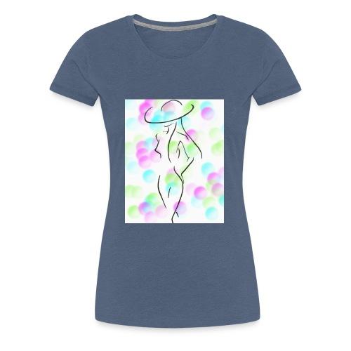 Frau substituiert - Frauen Premium T-Shirt