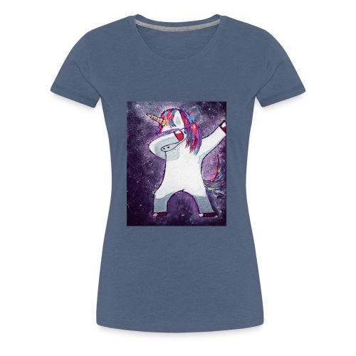 Space-Einhorn - Frauen Premium T-Shirt